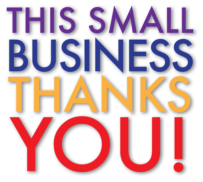 This small business thanks you!