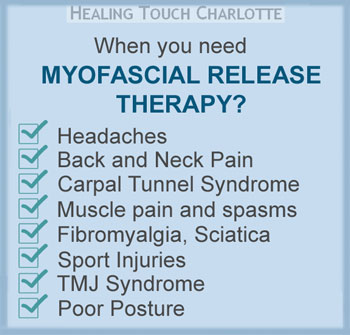 Myofascial Release Therapy in Charlotte, NC 28205